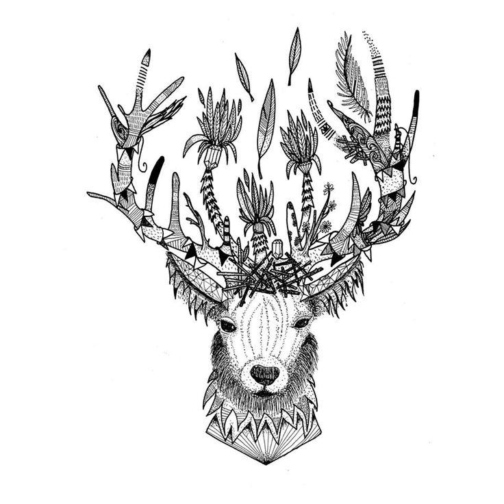 Little Madi - Deer Tattoo?