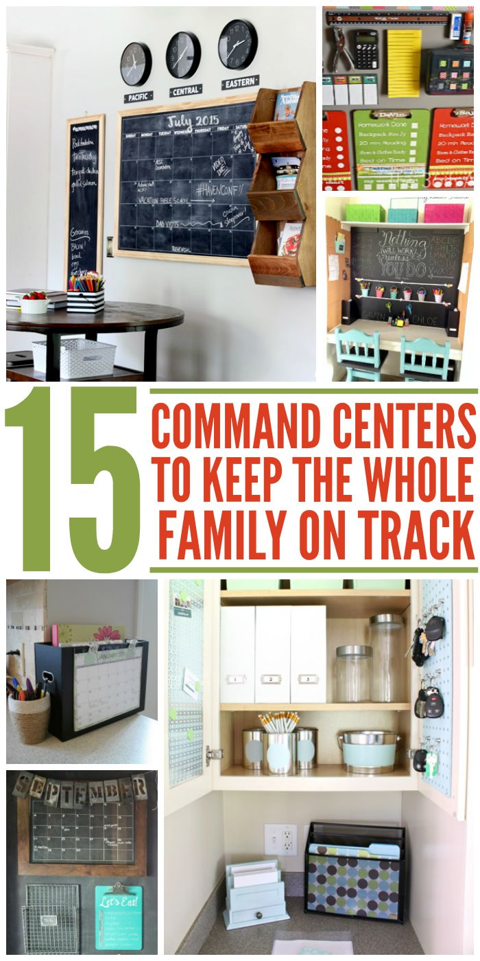 15 Command Centers to Keep Your Whole