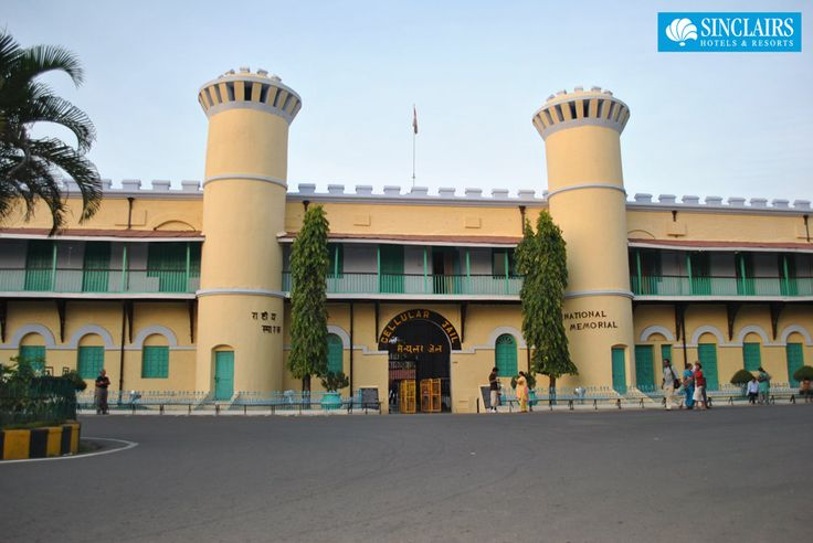 A symbol of colonial oppression during India's freedom movement, the Cellular Jail at Port Blair is a must-visit tourist spot. Don't miss the sound and light show in the evening #portblair #cellularjail #sightseeing #sinclairs