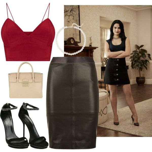 A fashion look from March 2017 featuring Reiss skirts, Gucci sandals and Furla tote bags. Browse and shop related looks.