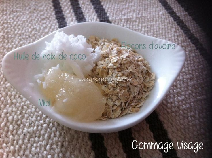 Voici une recette de gommage doux et nourrissant pour une - Gommage visage fait maison ...