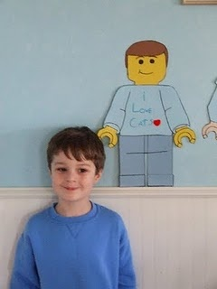 17 best images about lego birthday on pinterest favor for Lego minifigure head template