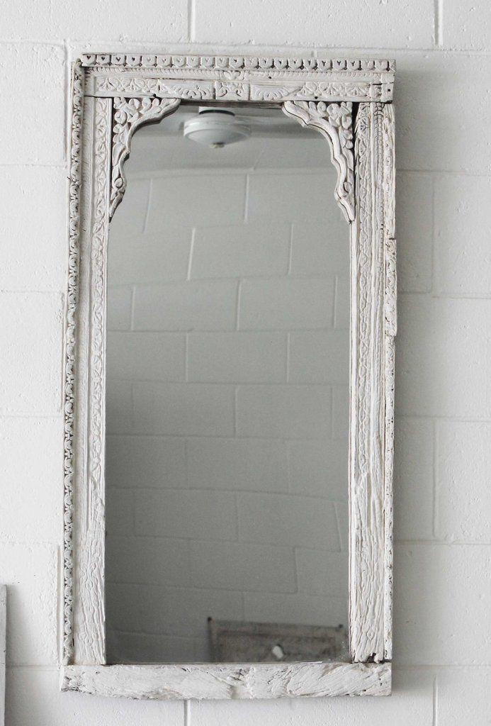 Antique Indian Shanti Mirror