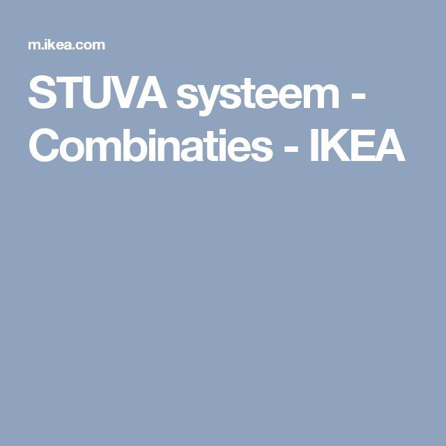 STUVA systeem - Combinaties - IKEA