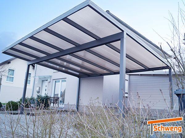 Referenzen Carports Carport Aus Aluminium Terrassenuberdachung