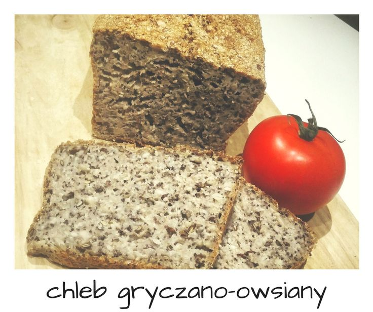 Chleb gryczany // Chleb gryczano-owsiany // Buckwheat bread // Gluten free