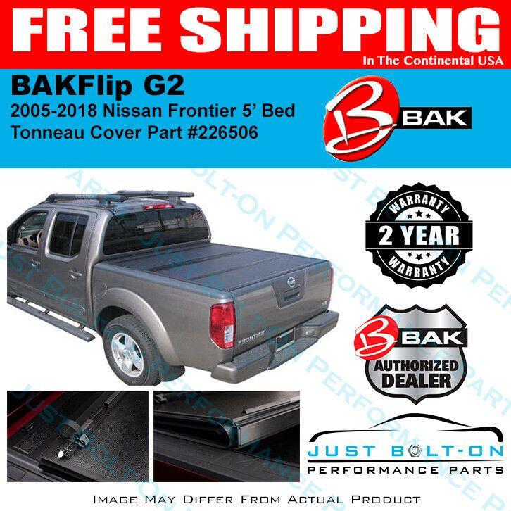 BakFlip G2 Tonneau Folding Cover FITS 20052019 Frontier 5