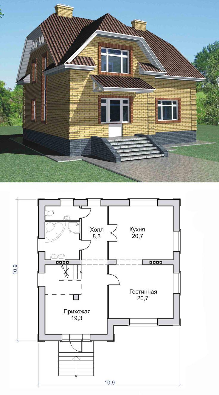 Поэтапное строительство дома из кирпича фото причина, почему