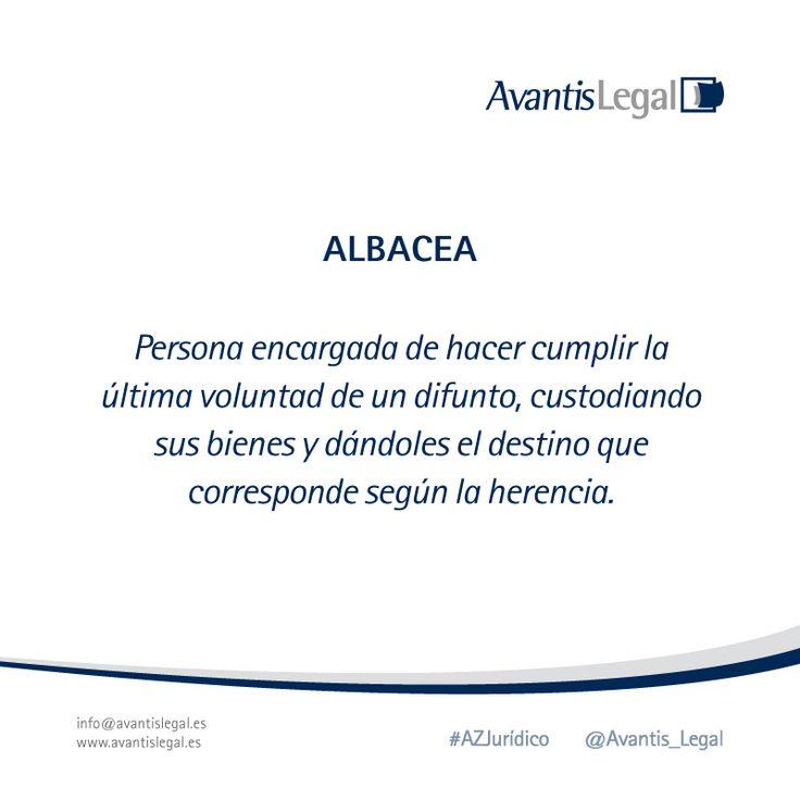 Esta semana en nuestro #AzJurídico le toca el turno a la figura del Albacea ¿Sabes cuál es su función?