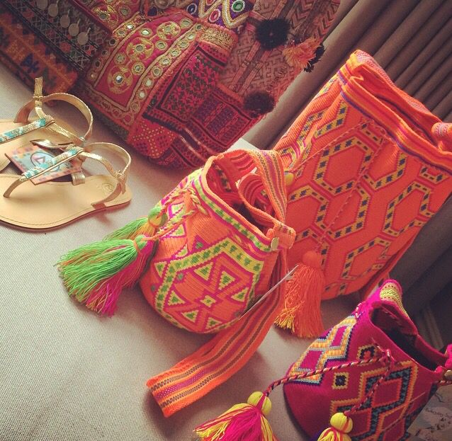 Our bags #mochilla @everydaysugar.com