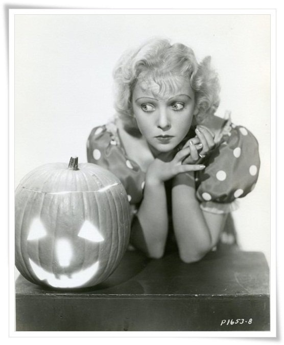 Ida Lupino Vintage Hollywood Halloween Pin-ups                                                                                                                                                      More