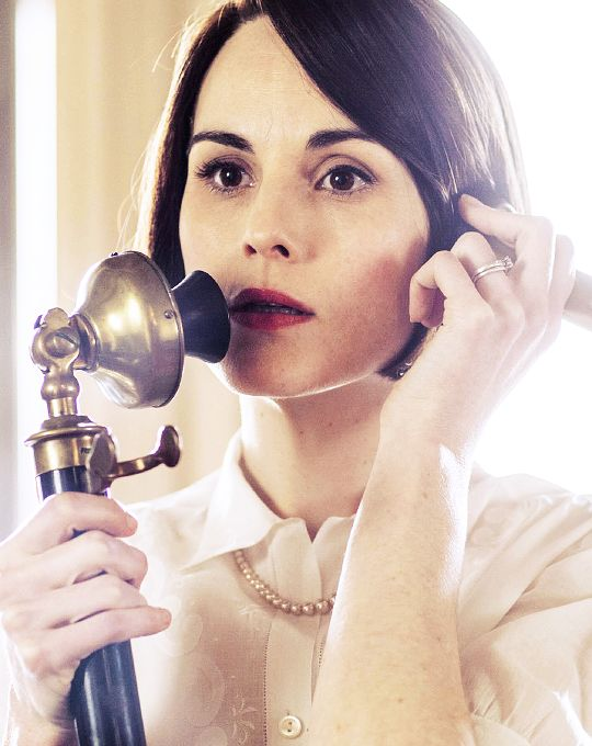 Mary Crawley. I love that she still wears her ring from Matthew.