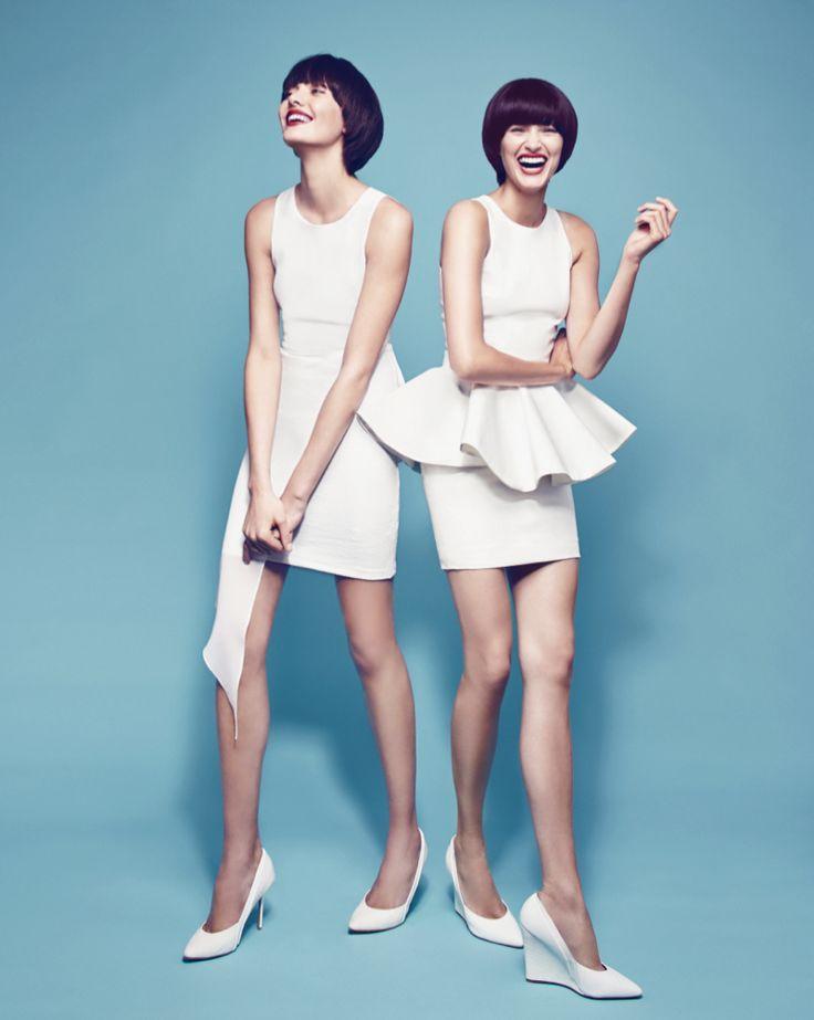 ELLIATT 'Sweepstaker Dress' http://www.theiconic.com.au/Sweepstaker-Dress-115711.html  SAVEUS 'Mariachi Peplum Dress'
