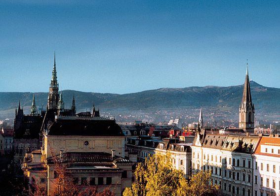 Liberec - Ski-town, hour north of Prague