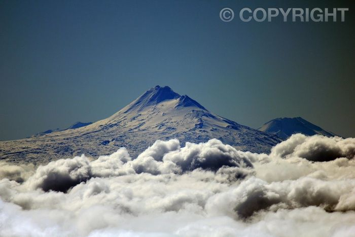 Above the Clouds - Volcano Llaima, Pucon
