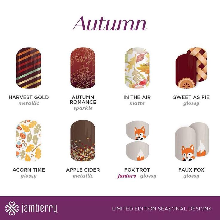 2016 Autumn Jams! charmianmp.jamberry.com