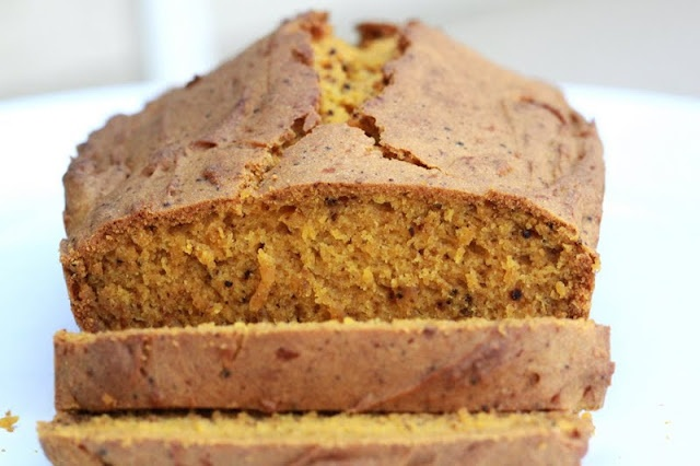 pumpkin chai bread (gf all purpose flour, xanthan gum): Breads Vegans, Gluten Free Vegan, Pumpkin Chai, Forgiveness Martha, Coconut Milk, Pumpkin Bread, Coconut Oil, Chai Breads, Baking Soda
