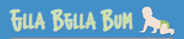 Chocolate Brown/Aqua/RedSolid Accent ScrappyOne Size, Pocket Diaper :: Ella Bella Bum Inc. Online Shop