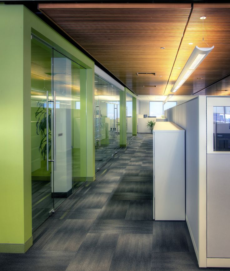 Western Financial - in High River, AB #largeoffice #commercialspaces #commercialinteriors #design #flooring
