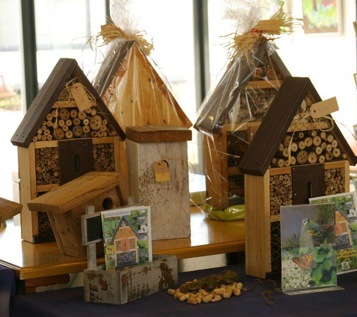 insectenhotels in de Hortus winkel