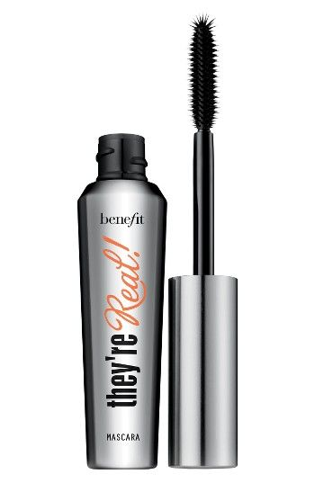 Free shipping and returns on Benefit They're Real! Lengthening & Volumizing Mascara at Nordstrom.com. What it is: A lengthening mascara that curls, volumizes, lifts and separates lashes.What it does: This long-wearing formula won't smudge or dry out and comes with a specially designed brush that reveals lashes you never knew you had.How to use: Position the wand horizontally and wiggle the brush from side to side, base to tip, to achieve maximum volume, length and lift. Hold the w...