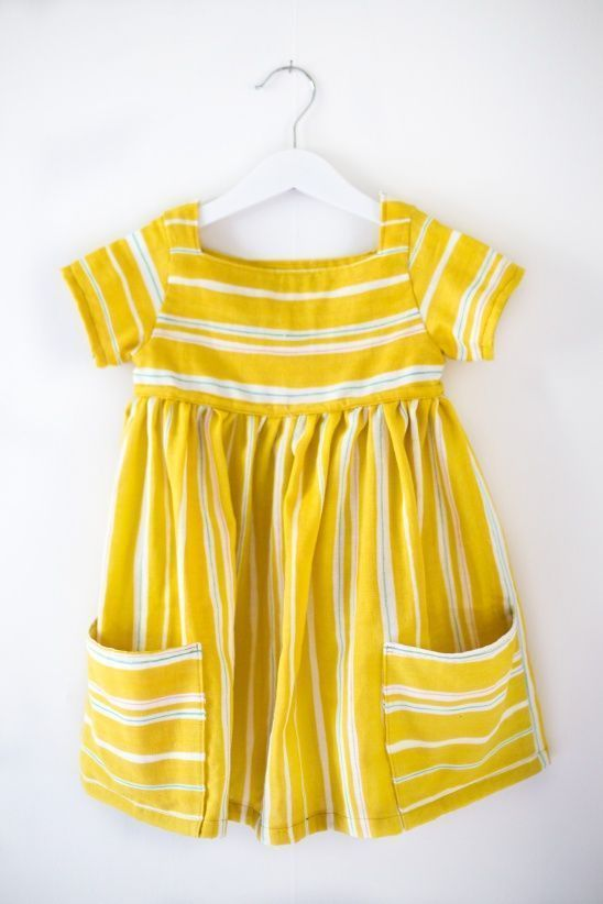 Sally dress for Astrid by Clara Falk | Project | Sewing / Ki... Baby Dress