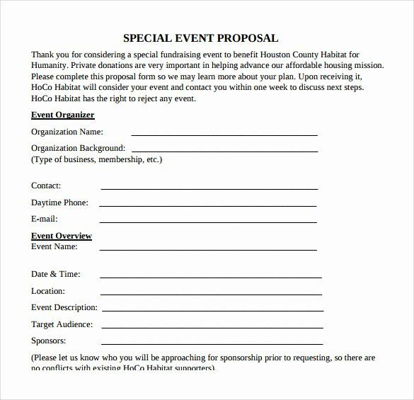 Event Planning Quote Template Awesome 30 Sample Event Proposal