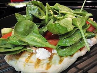 west coast grilled vegetable pizza | the kitchen | Pinterest