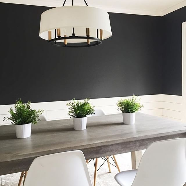 Sherryhdesigns Creates Contrast In This Minimalist Dining Room By Adding Wrought Iron 2124 10
