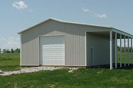 Our gallery metal buildings steel buildings pole for Pole barn house plans and prices ohio