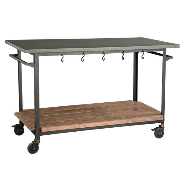 Industrial Rolling Kitchen Cart: Kitchen Islands Made From Industrial Carts