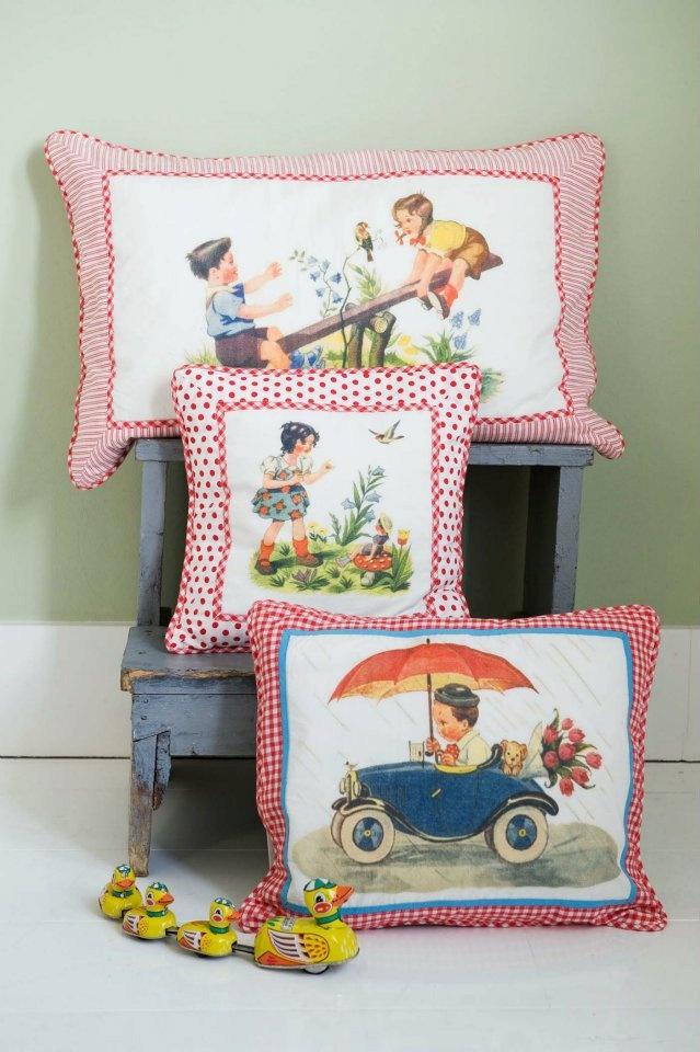 vintage pillows