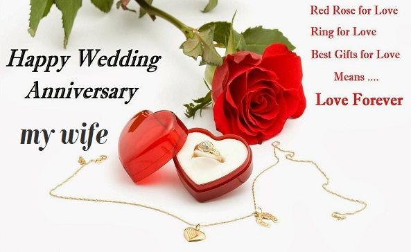 Beautiful Happy Anniversary Images For Wife Happy