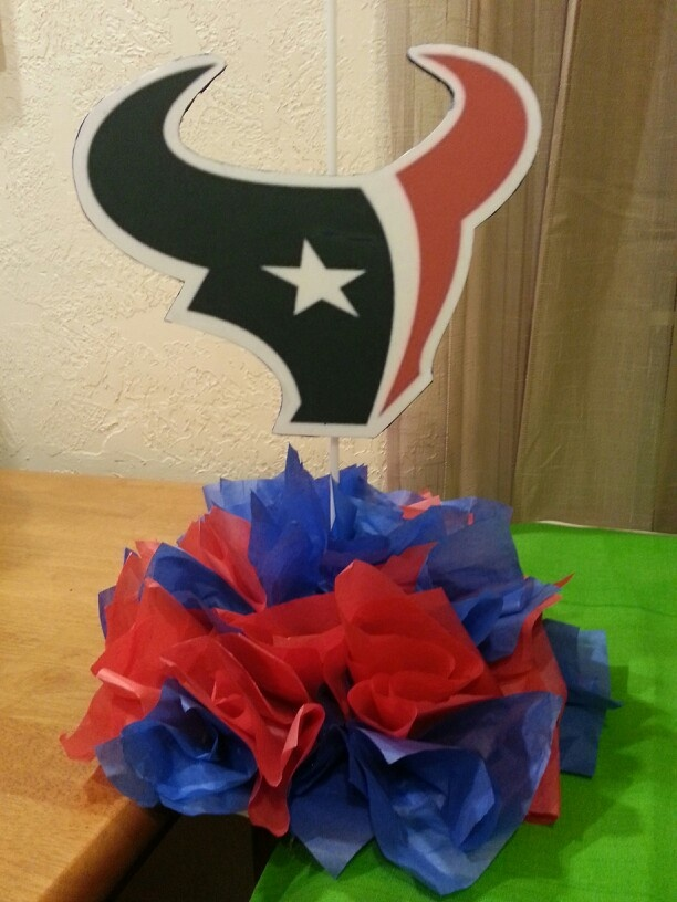 61 best Houston Texans Party images on Pinterest 7th birthday