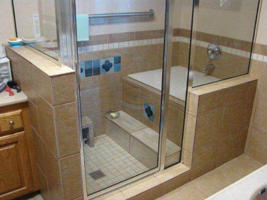 17 Best Images About Master Bath On Pinterest Double Shower Tub Shower Com