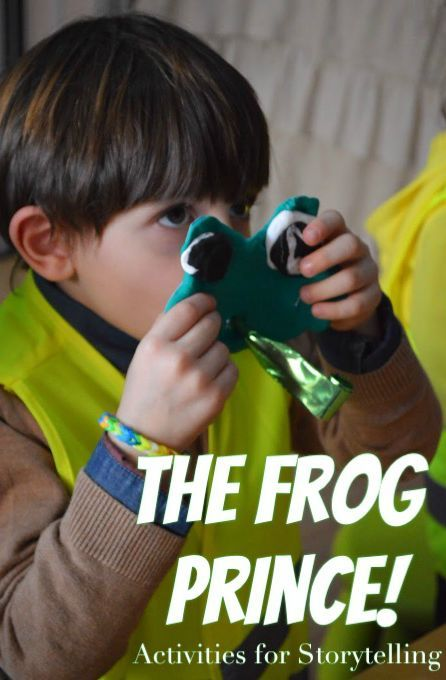 Activties to go with the storytelling of The Frog Prince!