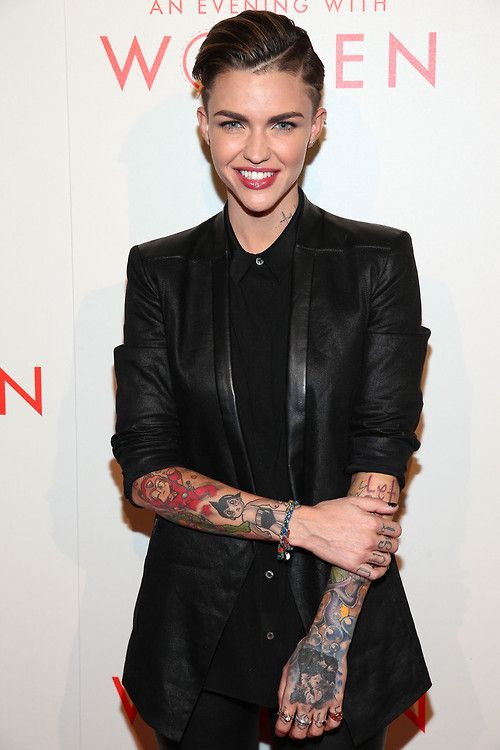 ruby rose - such a babe.