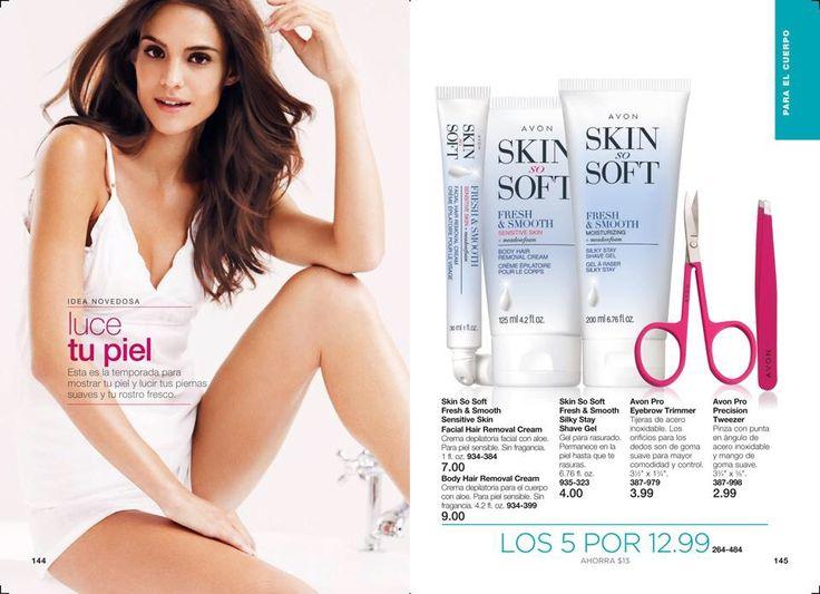 Esta gran oferta no te la puedes perder. Estos 5 productos de la línea #SkinSoSoft Fresh&Smooth Cremas depilatorias para tu rostro y cuerpo a solo $12.99  Ordénalas ya  www.youravon.com/beatriztoro