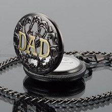 Festina Relojes 2016 New Montres Retro Women Mens Silver Tone DAD Dangle Pendant Pocket Watch + Chain Gift Box Horloges Mannen