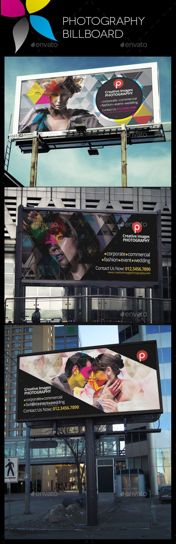 Photography Billboard Template #design Download: http://graphicriver.net/item/photography-billboard/10680131?ref=ksioks