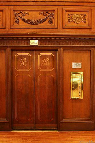 Original John Wanamaker Elevators A Sign Said Quot These