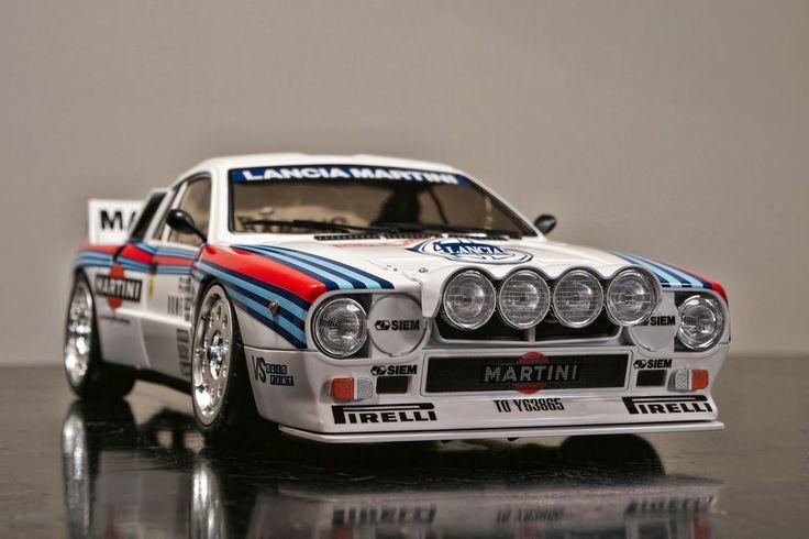 TAMIYA Lancia Rally 037 Vintage RC @ work in progress | Flickr ...