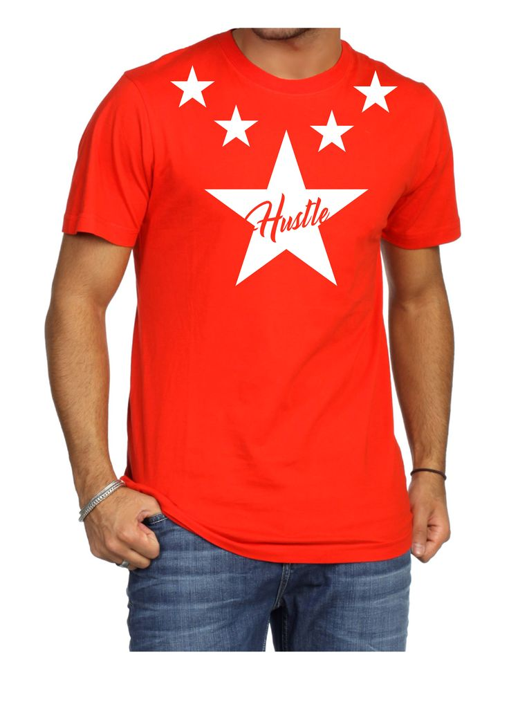 Hustle T-Shirt Red