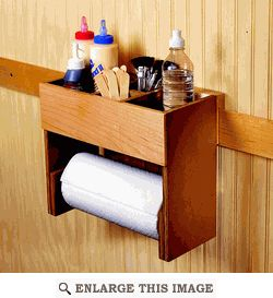 Portable Glue/Towel Center Woodworking Plan | DIY, Tips & Tricks