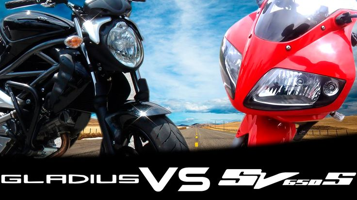 GLADIUS VS SV 650S Drag Race /Xmotos