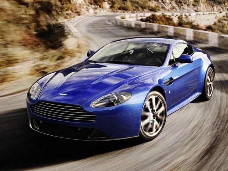 Aston Martin Wallpapers : 2012 Aston Martin V8 Vantage S Front
