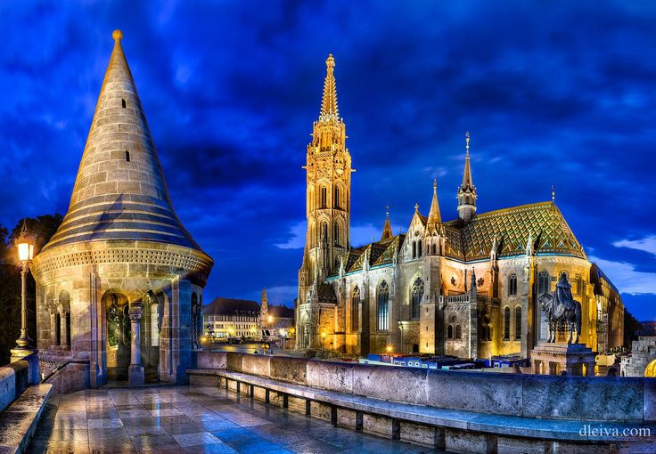 Matthias Church in the Royal Castle - 5 minutes from us.
