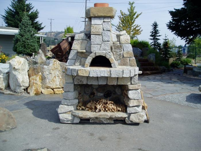 Outdoor Fireplace With Pizza Oven Google Search Outdoor Pizza Oven And Bar Pinterest