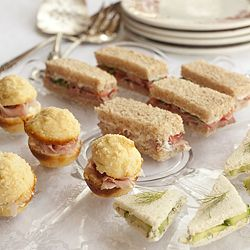 Tea Sandwiches - three little finger sandwiches to make your next occasion a little more special.