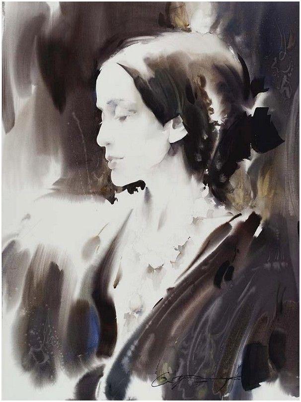 Hudozhnik Slava Prishedko Akvarelnye Portrety Iskusstvo